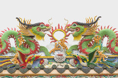 висок Таиланд статуи sian дракона chon buri Стоковое Фото