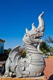 висок Таиланд статуи sian дракона chon buri Стоковые Фотографии RF