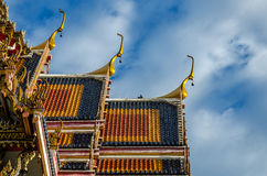 висок Таиланд Стоковая Фотография