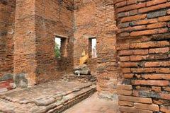 висок Таиланд ayutthaya старый загубленный Стоковые Фотографии RF