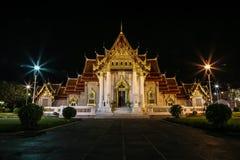 висок Таиланд bangkok мраморный стоковое фото
