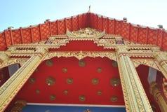 Висок Таиланд nonthaburi Wat buakwan Стоковые Изображения