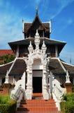 Висок Таиланд Wat Chedi Luang Чиангмая Стоковое Фото