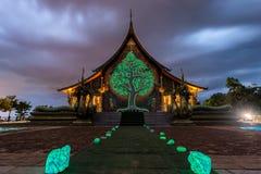 висок тайский Wat Phu Prao висок в провинции Ubon Ratchathani, Таиланде Стоковое Изображение