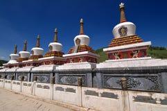 Висок Тибета Стоковая Фотография RF