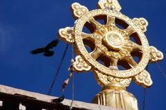 висок Тибет фарфора Стоковая Фотография RF