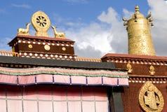 висок Тибет Стоковая Фотография RF