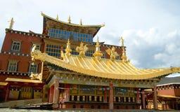 висок Тибет Стоковое Фото