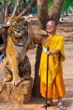 Висок тигра, Таиланд Стоковое Изображение