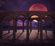 Висок фантазии старый в пустыне Стоковые Фотографии RF