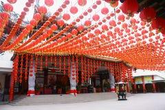 висок фонарика hou thean стоковые изображения