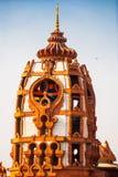 Висок форт Индия купола delhi здания внутри нового красного цвета Стоковые Фотографии RF