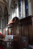 висок церков алтара Стоковая Фотография