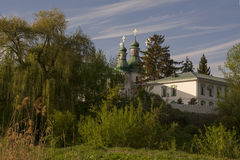 Висок церков в середине Стоковое фото RF