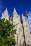 Висок церков Иисуса Христоса новейших Святых в соли Стоковая Фотография RF