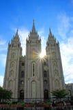 Висок церков Иисуса Христоса новейших Святых Стоковое Изображение RF