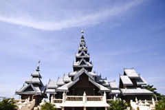 висок церков тайский Стоковое фото RF