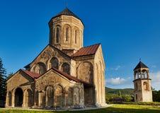 Висок церков Nicortsminda в Georgia Стоковое Фото