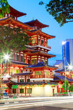 Висок Чайна-таун Сингапур реликвии Будды Toothe Стоковое Фото