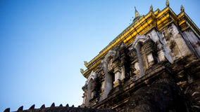 Висок Чиангмая Wat Стоковое Изображение RF