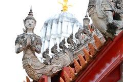 висок штукатурки античной культуры тайский Стоковые Изображения