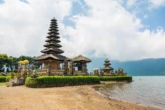 Висок экзотического danu ulun pura beratan, Бали Стоковое Изображение RF