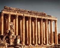 Висок Юпитера, Баальбек, Ливан Стоковая Фотография RF
