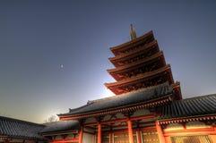 висок японии Стоковые Фотографии RF