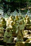 висок японца buddhas Стоковая Фотография