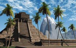 висок 03 maya иллюстрация штока
