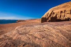 Висок Abou Simbel Стоковая Фотография RF
