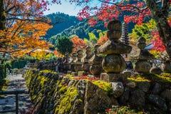 Висок Adashino Nenbutsu-ji, токио Стоковые Фотографии RF