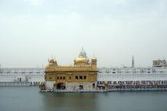 висок amritsar золотистый Индии Пенджаба Стоковое фото RF