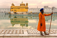 висок amritsar золотистый Индии Стоковые Фотографии RF