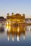 висок amritsar золотистый Индии Стоковое фото RF