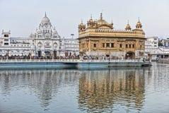 висок amritsar золотистый сикхский стоковая фотография