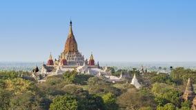 Висок Ananda, Bagan Стоковое Фото