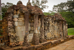 Висок Angkor Thom Bayon Стоковое фото RF
