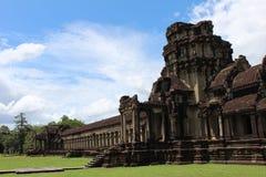 Висок Angkor Wat, Камбоджа Стоковое фото RF