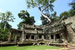 Висок Angkor Wat Стоковое Изображение