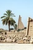 Висок Anscient Karnak в Луксоре - Archology Ruine Thebes Египта около Нила стоковые фото