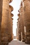 Висок Anscient Karnak в Луксоре - Archology Ruine Thebes Египта около Нила стоковое фото rf