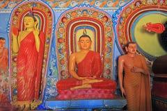 Висок Anuradhapura Isurumuniya, всемирное наследие ЮНЕСКО Шри-Ланки стоковая фотография
