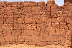 Висок Apedemak в Судане Стоковая Фотография RF