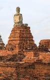 Висок Ayutthaya Wat Chai Watthanaram Стоковое Изображение RF