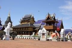 Висок Banden, красивый висок в chiangmai Стоковая Фотография