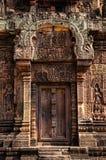 Висок Banteay Srei Стоковое Изображение