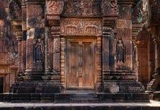 Висок Banteay Srei Стоковое Изображение RF