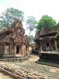 Висок Banteay Srey стоковое фото