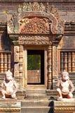 Висок Banteay Srey стоковая фотография